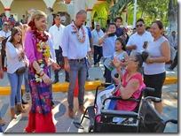 Entregará Ivette Morán ambulancia a Huajuapan
