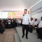 Llama gobernador a sumar esfuerzos a favor de los municipios
