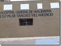 Hospital general Pilar Sánchez Villavicencio (2)