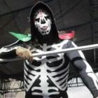 Alistan homenaje a La Parka luchadores mixtecos