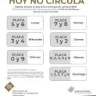 Implementan programa Hoy no Circula en municipios poblanos