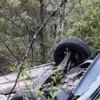 SEGURIDAD PÚBLICA: Volcadura deja dos lesionados en carretera 190, tramo Yanhuitlán – Yucudaa