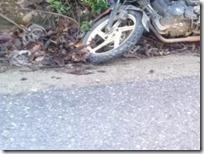 Fallece motociclistaa tras ser arrolado