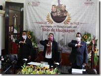 Conmemoran 208 aniversario del rompimiento del sitio de Huajuapan