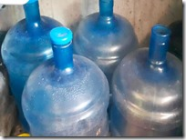 Garrafones de agua