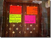 Por segundo día protestas ex brigadistas de la CONAFOR