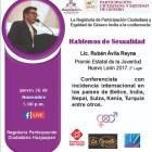 Hablar de sexualidad aún sigue siendo un tabú: Rubén Ávila