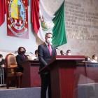 MORENA y PAN desaprueban informe del gobernador; mientras PRI lo respalda