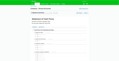 Statement of Cash Flows now available in NZ, AU and ROW ...