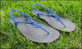 Tarahumara-inspired huarache running shoes