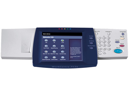 WorkCentre 742574287435 Full Color Touch Screen