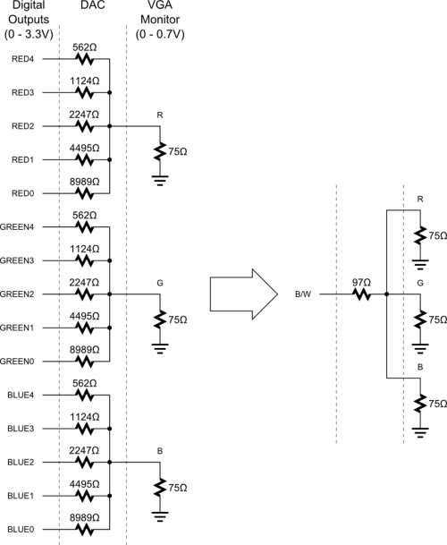 small resolution of rgb to vga schematic wiring diagramrgb to vga schematic