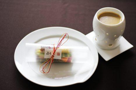 水引バーニャカウダ カニ味噌のソース