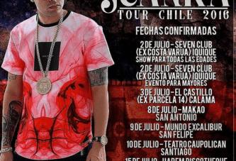 ¡Última Gira! Juanka El Problematik – Tour Chile 2016