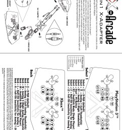 2in1 x adapter help instructions playstation 3 original xbox ps3 [ 2550 x 3216 Pixel ]
