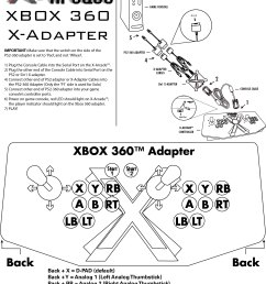 to access the xbox menu during game play simply press back start on the x arcade you can also press and hold back start to access the system menu  [ 2480 x 3244 Pixel ]