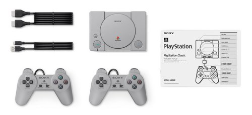 Τα περιεχόμενα της συσκευασίας του PlayStation Classic