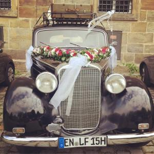 Ready for the wedding? wedding oldtimer bamberg