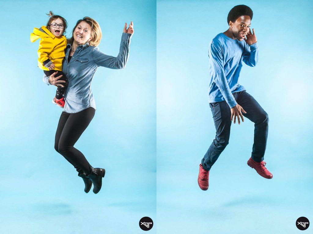 Photo en levitation pour le salon photo FNAC