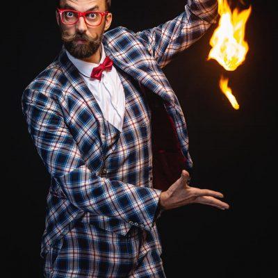 Portrait homme model acteur magicien