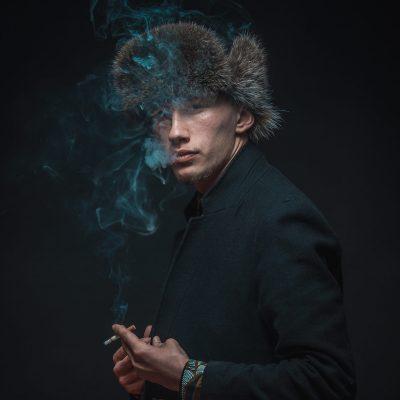 Portrait homme model russe