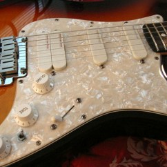 Lace Sensor Wiring Diagram Strat 1999 Saturn Sl2 Xhefri S Guitars Fender Stratocaster Ultra The Features A Special System Using 4 Pickups Pickguard Comes Shielded From Factory One Thing All Ultras Did Have