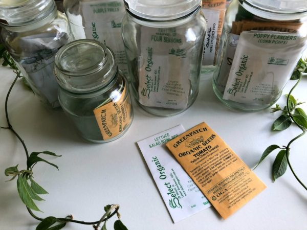 Organic seeds are the choice for me