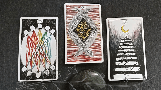 The Wild TUnknown Tarot Deck July 2019 reading