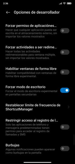 3 features for MIUI 13 Android desktop mode.  News Xiaomi Addicts