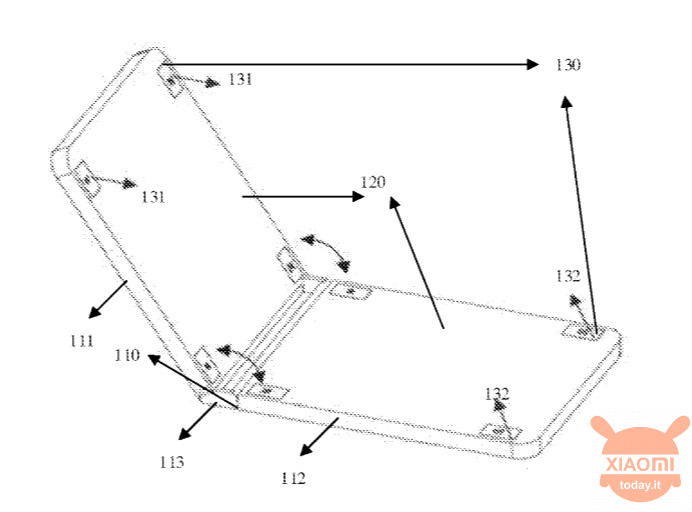 A new Xiaomi patent launches the gauntlet to Moto Razr and