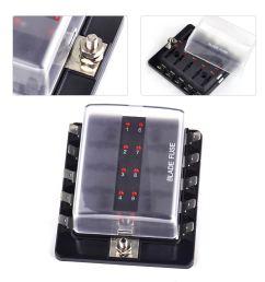details about 10 way circuit automotive atc ato fuse box holder fit vw mercedes benz audi bmw [ 1110 x 1110 Pixel ]