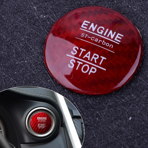 small resolution of carbon fiber engine start stop button cover trim fit for lexus is250 350 200t 2014 2018