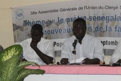 Abbe Joseph Maïssa Gueye A L Ouverture De La 38e Assemblee