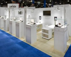 white display stands