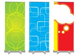 banner stands trade show