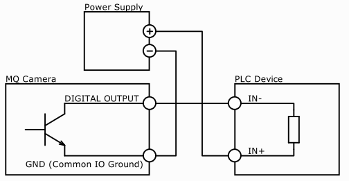 npn outputs wiring