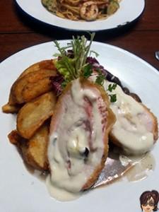 Chicken Cordon Bleu (RM25.00)