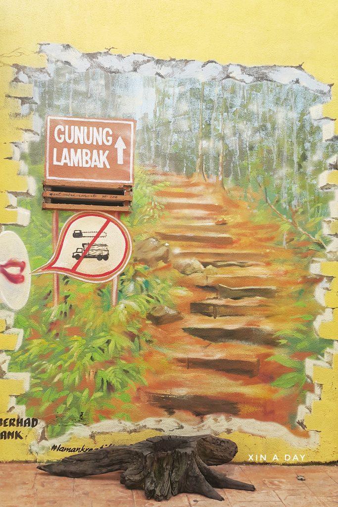 居銮壁画街 Laman Kreatif Kluang