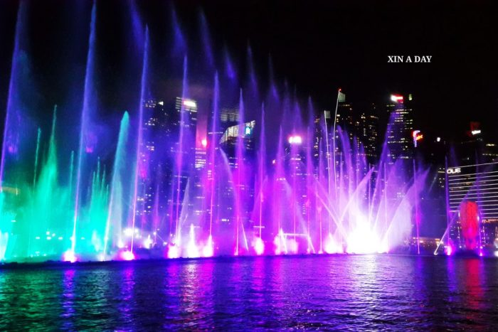水上灯光秀 Spectra Light and Water Show