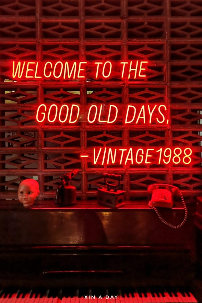 自带复古滤镜的 Vintage 1988 Cafe @ Jalan Sultan