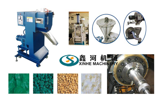 Single Screw Pelletizing Line2