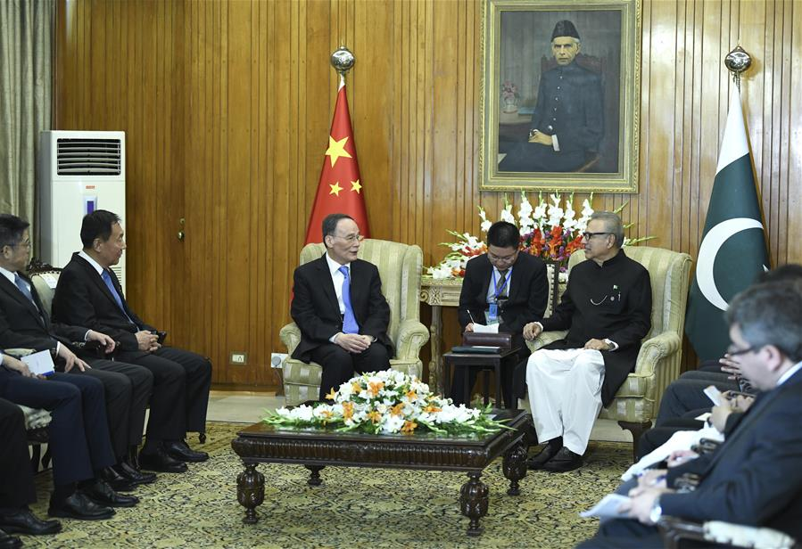 PAKISTAN-CHINA-WANG QISHAN-VISIT