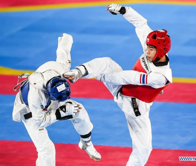In Pics Mens Under Kg Taekwondo Final At Southeast Asian Games