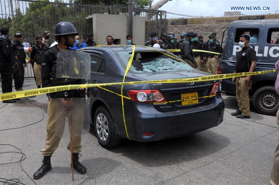 PAKISTAN-KARACHI-STOCK EXCHANGE BUILDING-ATTACK