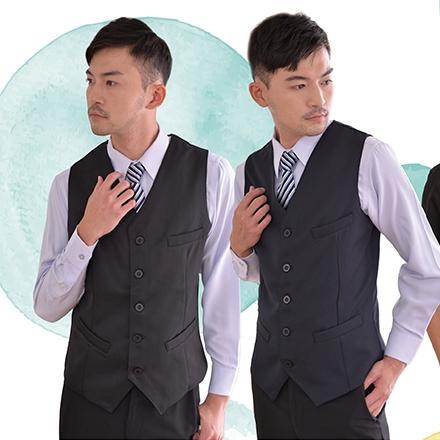 男西裝背心-工作服 制服 新美團體服是您桃園工作服的最佳廠商