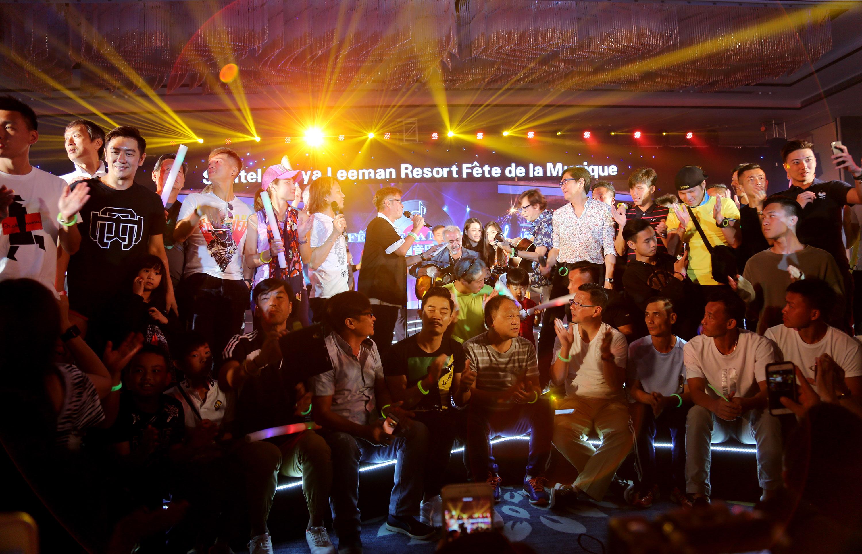 法國搖滾音樂名家和香港70年代流行樂團的激情碰撞,唱響三亞理文索菲特法國音樂盛會 – 新聞稿 – Xinwengao.com