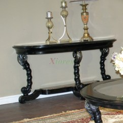 Sofa Tables For Living Room Solid Furniture Alya Classic Toronto Xiorex Black Table