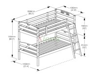 Bunk Bed Dimensions Between Beds | Roole