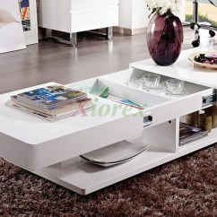 White Gloss Living Room Furniture El Dorado Sets Burlington Coffee Table Xiorex