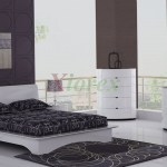 Eri All White Modern Bedroom Furniture Sets Canada Xiorex